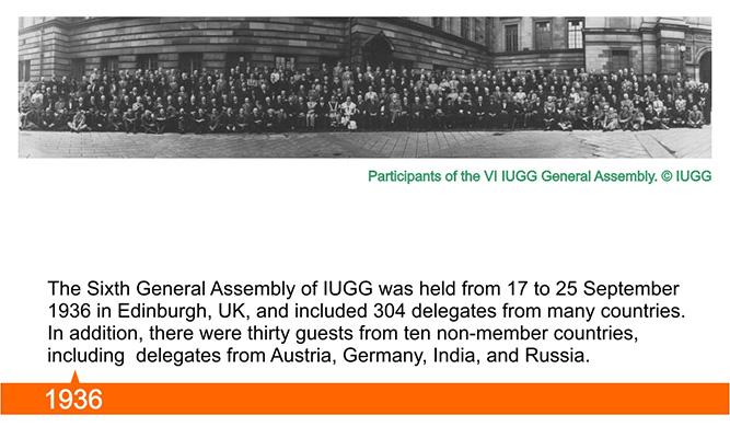 100 Years IUGG
